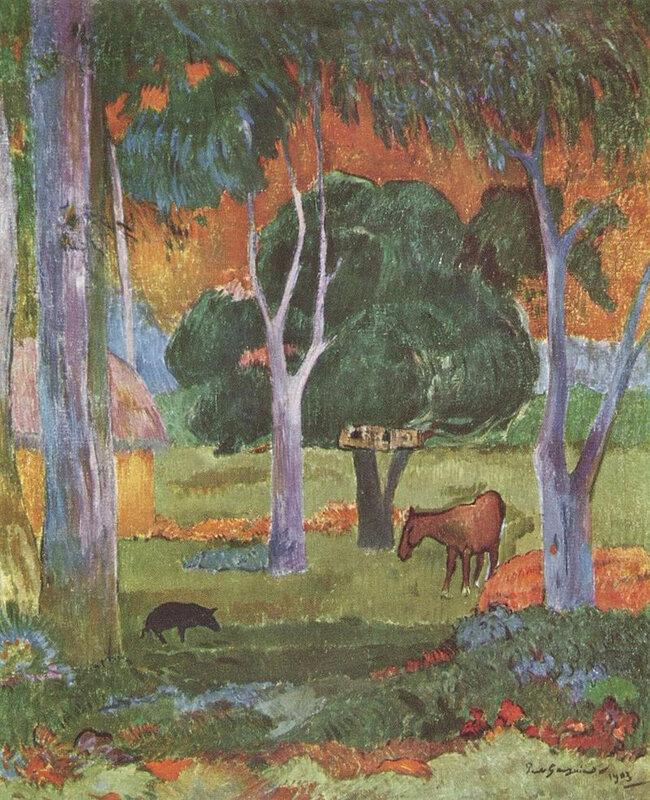 1903 - Paysage Hiva Oa