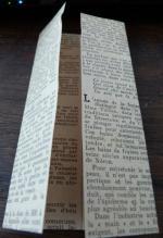 Tuto lapin origami papier ancien (2)