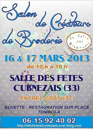 Affiches-SALON CUBNEZAIS 2013