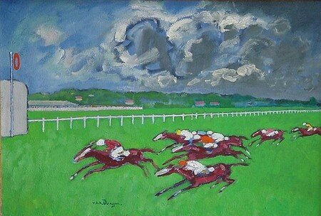 Blue_Grass_Races_Kentucky_1935_de_Kees_Van_Dongen