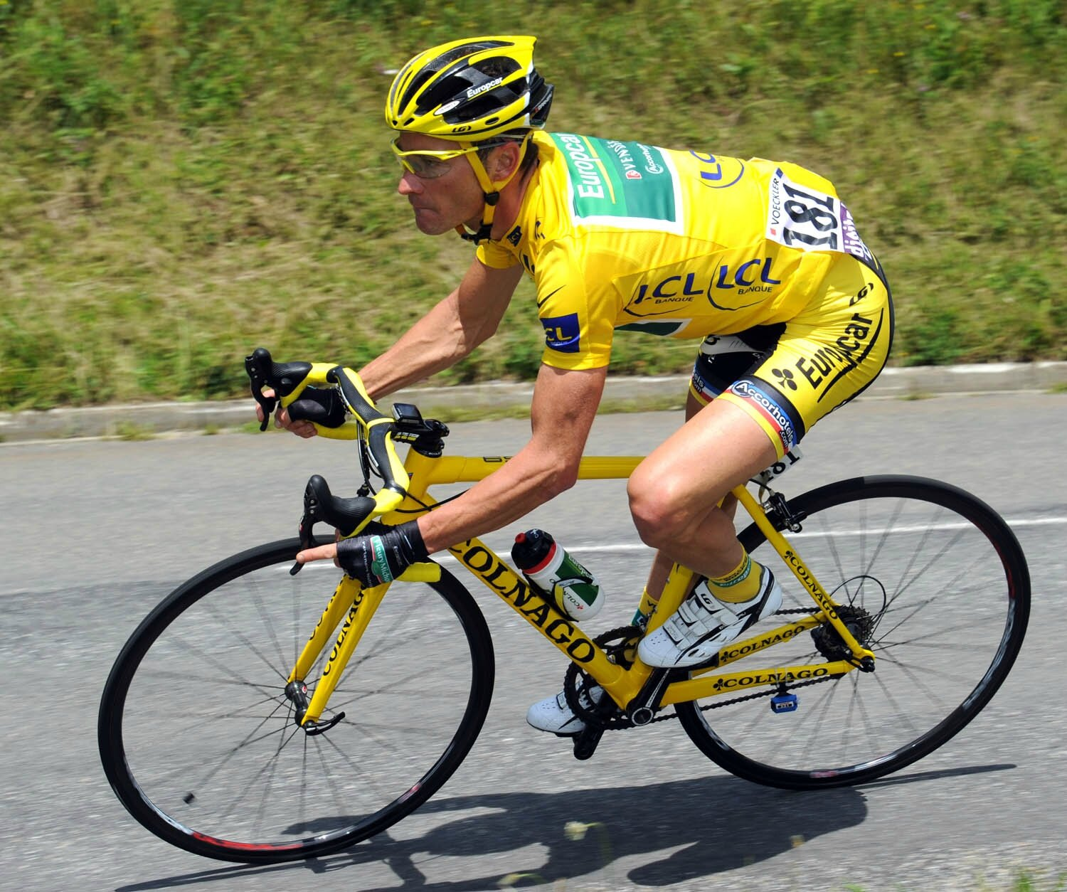 Le maillot jaune Tour de France 2011 de THOMAS VOECKLER ...