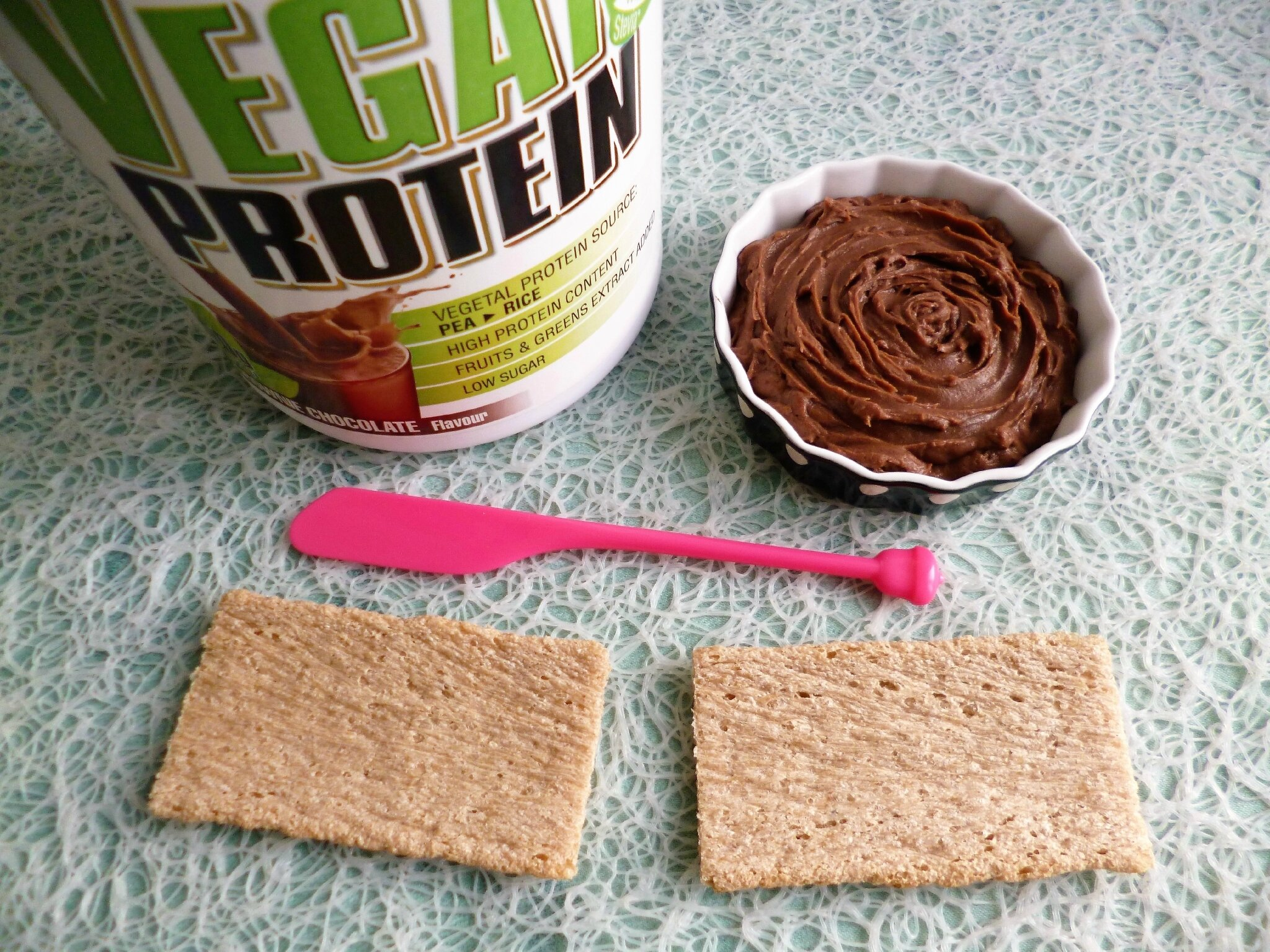 Tartinade v gane hyperprot in e brownie chocolat 75 kcal - Blog cuisine dietetique ...