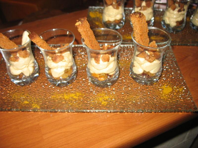 Mousse de foie gras aux fruits secs