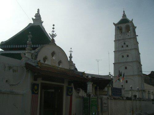 Malacca, minaret a la forme originale
