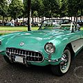 Chevrolet corvette convertible roadster 1956 à 1957