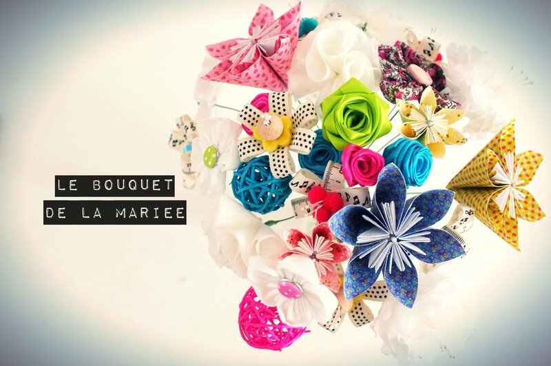 Le bouquet de la mari e diy work in progress that 39 s all - Le bouquet de la mariee ...