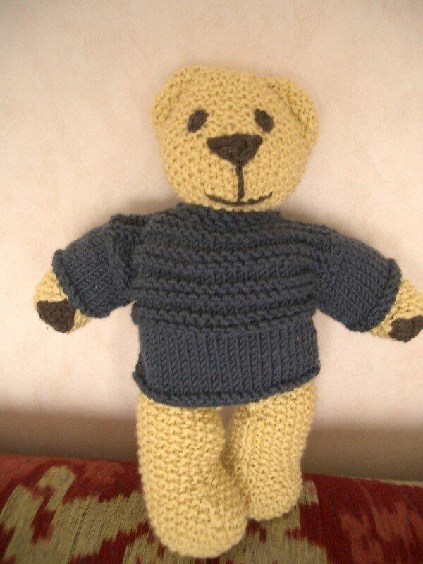 ours tricoté debbie bliss