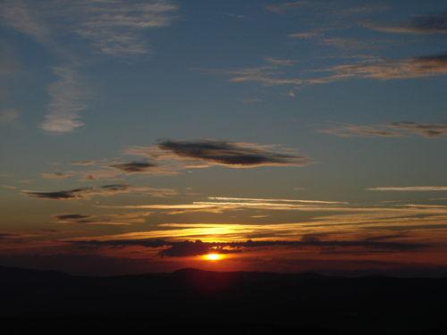 2008 08 11 Le levé du soleil depuis le sommet du Pic du Lizieux (19)