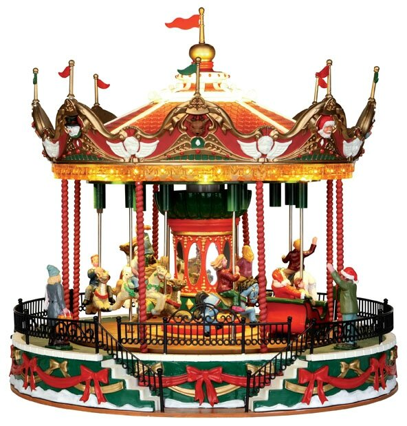 Carrousel musical miniature lemax