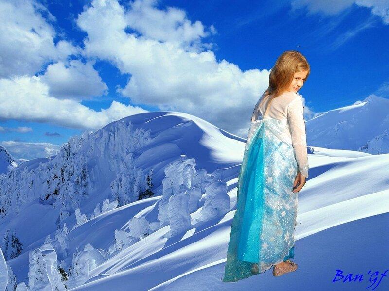 princesse des neiges b