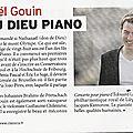 Concert de nahanael guoin, concert de brouilla le 17 mars 2017. présentation par la revue classica.