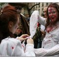 Marche des Zombies, Paris.