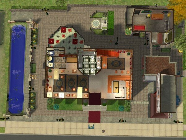 Maisons deco sims2 page 3 maisons deco sims2 for Decoration maison sims 4