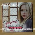 CD promotionnel Girlfriend-version mexicaine (2007)
