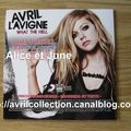 CD promotionnel What The Hell-version mexicaine (2011)
