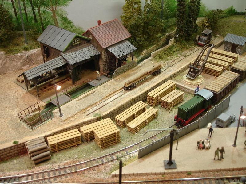 Rail Expo 2008 : diorama
