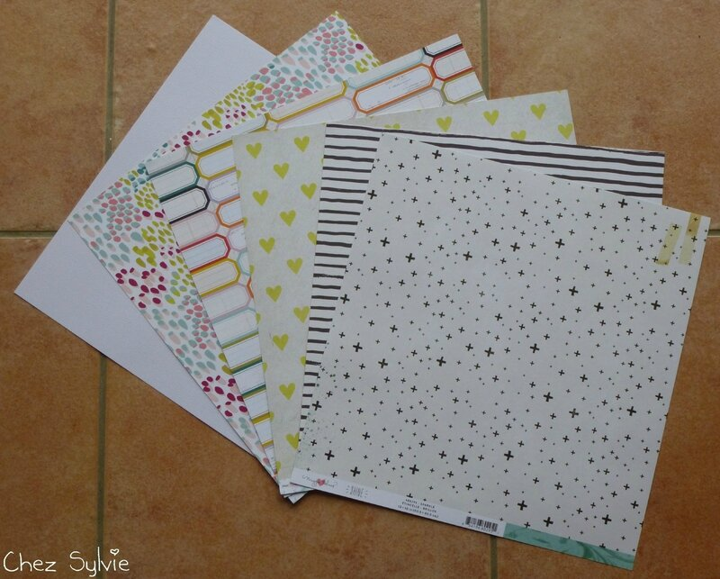 Kit 11-15 papiers recto