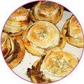 Tartelettes acidulées de pomme au chèvre
