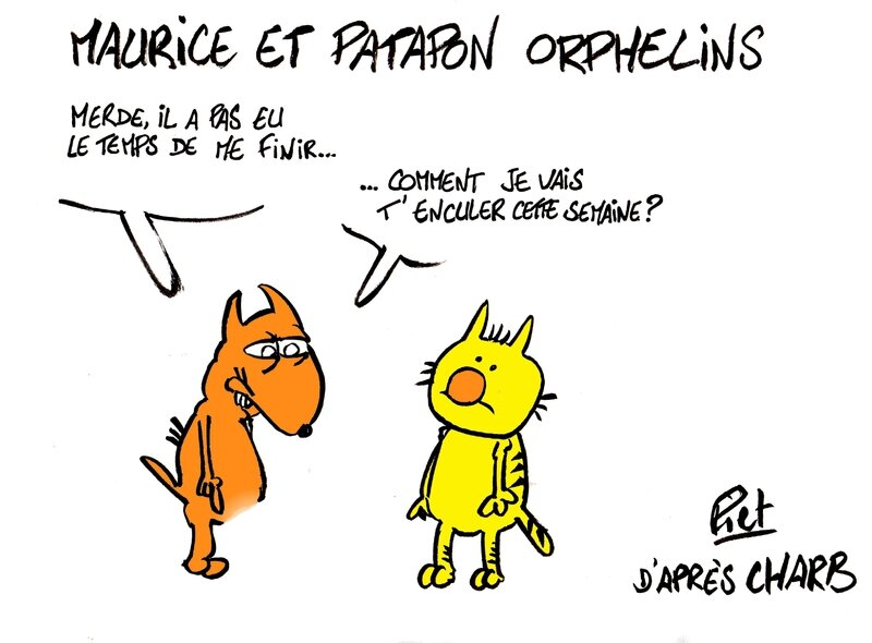Maurice et Patapon orphelins 001