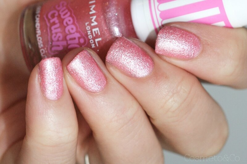 rimmel sweetie crush candyfloss cutie
