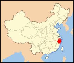 Zhejiang-carte-Chine