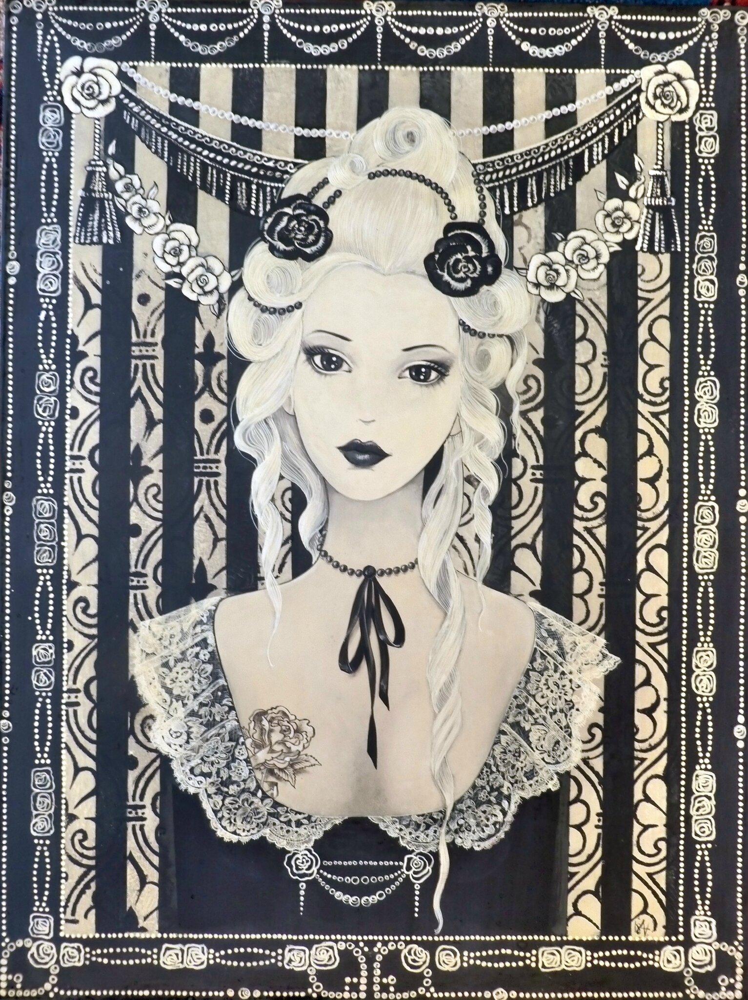 Antoinette, 45x60, 2015