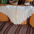 Miss Marple Shawl coloris céladon Phil Light