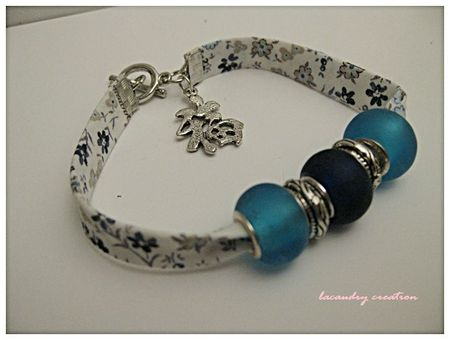bracelet chance liberty bleu et pandora style 1
