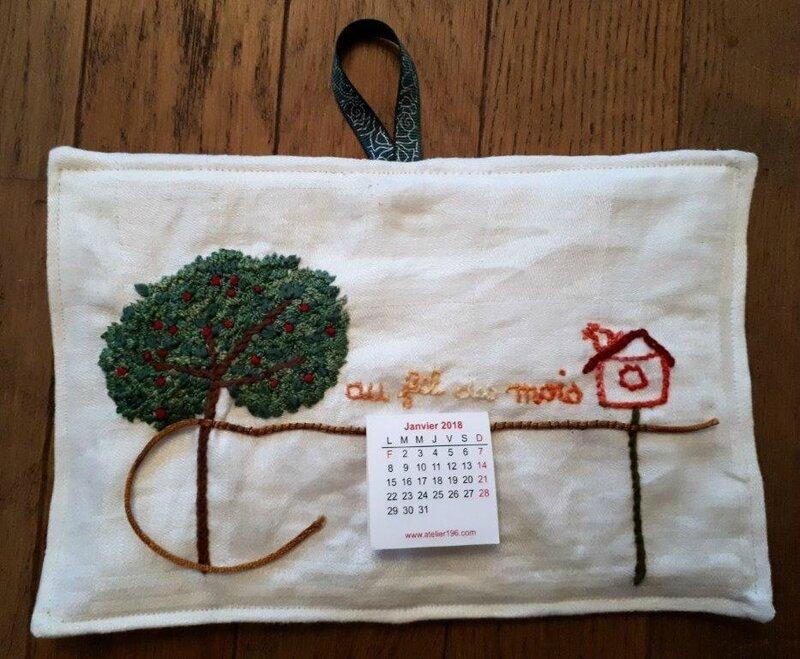 pendouille calendrier arbre