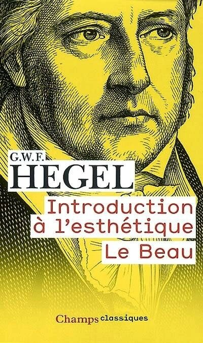 Hegel Intro Esthétique couv