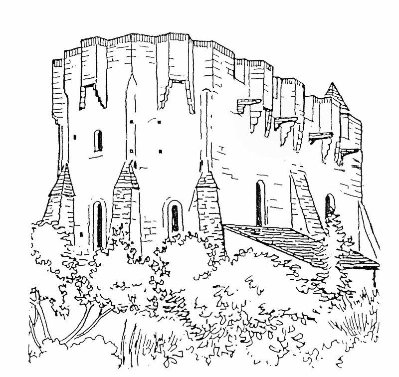 l'église imaginée en 1353