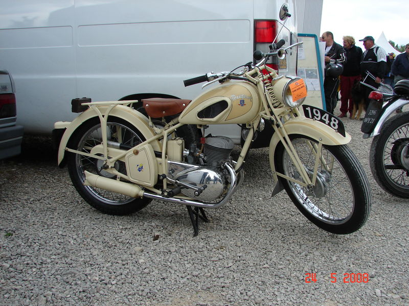 P55 Peugeot 1948 Photo De Vu 224 Moto Legende 2008 Les