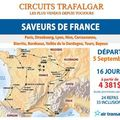 Circuits trafalgar : saveurs de france