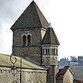 L'église d'avenas, et son autel unique