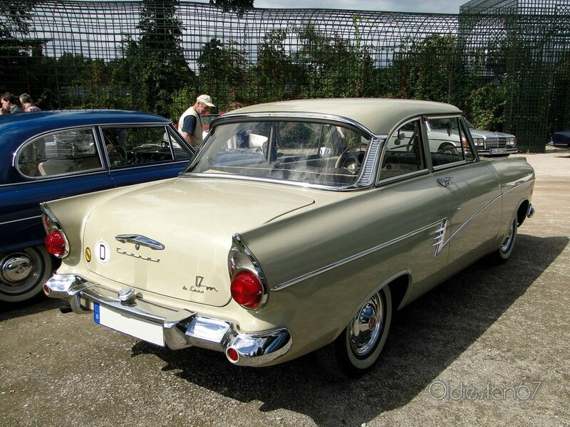 ford taunus 17m p2 de luxe coupe 1960 b