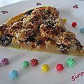 tarte aux 3 raisins de maggy