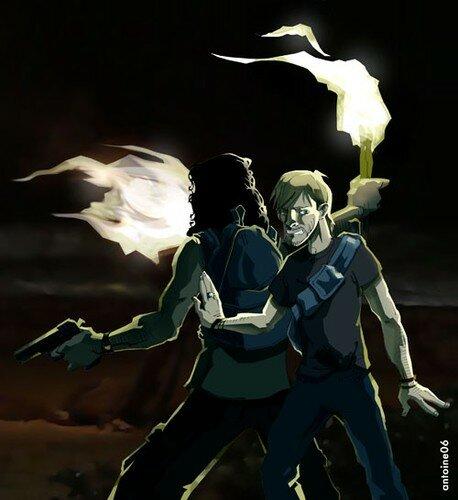 Charlie + Sayid