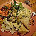 Assiette végétarienne number 2