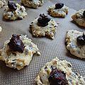 Cookies coeur fondant choco