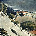 Cézanne, La neige fondue à L'Estaque