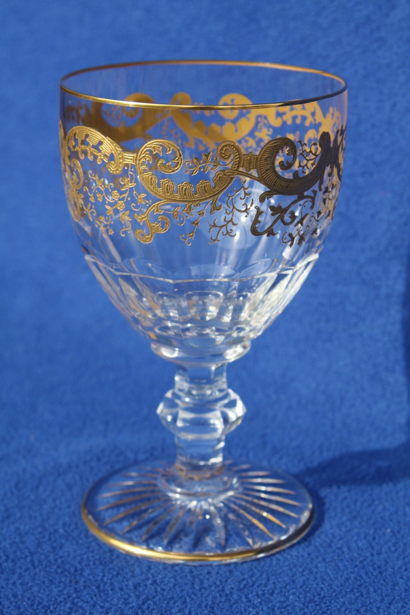 Verre à eau St Louis Trianon Or 170 €