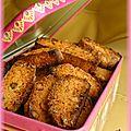 Biscotti aux amandes et pistaches