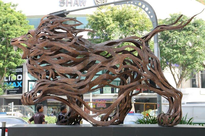 art en ville Singapour 2015