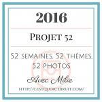 2016 Projet 52