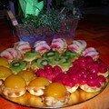 Cascade de tartelettes fruitées