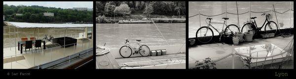 Lyon vélos et péniches1