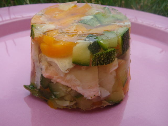 terrine de poisson en gelee