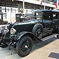 RENAULT 18CV coupé faux landaulet 1924 Bruxelles Autoworld (1)