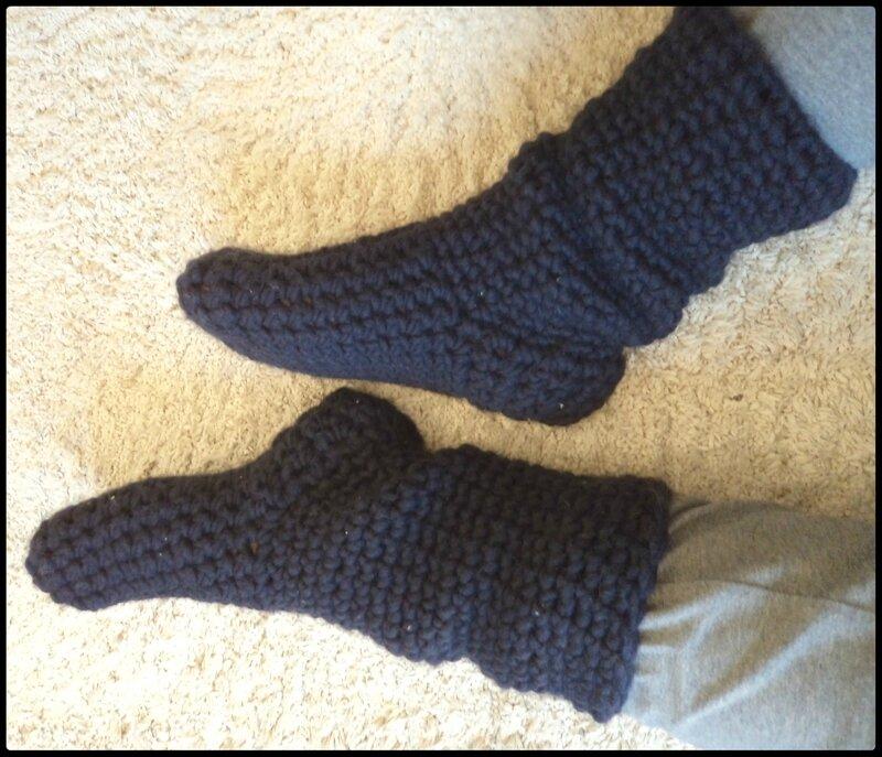 Chaussettes crochet CK14 Cam&Drey bricolent