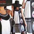 Voyage à paris ... l'élégance à la française et imprimé photos ... la robe isamade se fait so frenchy !!!